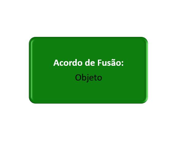 objeto do acordo de fusão